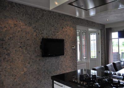 Keukenwand Weerselo